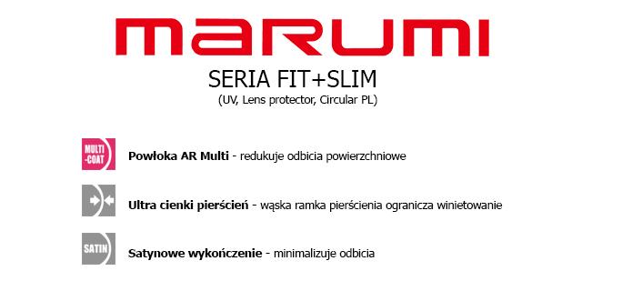 Filtry fotograficzne Marumi Fit + Slim