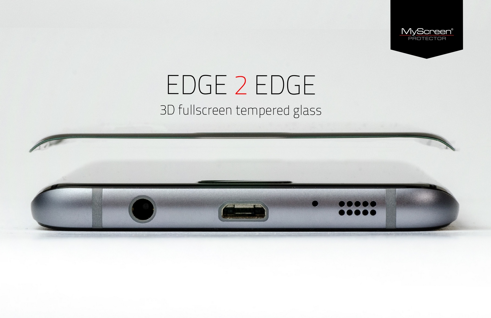 MyScreen DIAMOND GLASS edge 3D